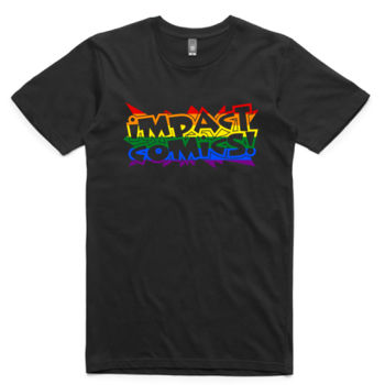 Impact Rainbow Star Big Shirt Thumbnail